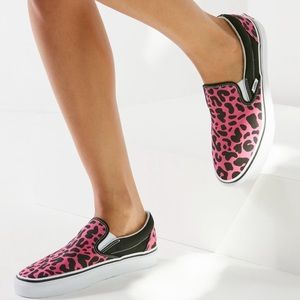 01fe5de7ca Vans Shoes - NWT Vans Pink Multi Leopard Slip On Sneaker